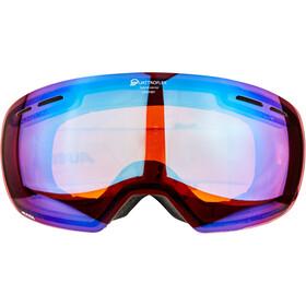 Alpina Granby Quattroflex Mirror S2 Gafas, blue spherical/anthracite